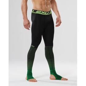 2XU Power Recharge Recovery Underkläder Herr grön/svart